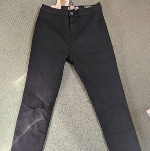 Boohoo Distressed jeans NWT